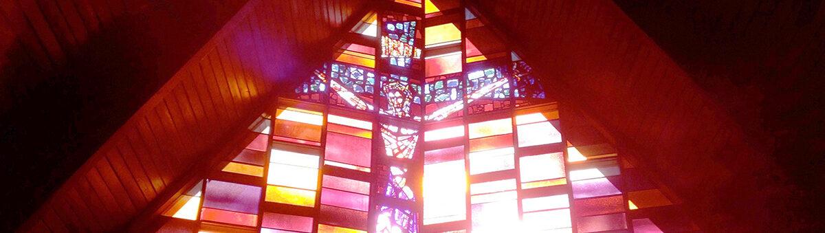 Christ on the Cross - Trinity Episcopal Church, El Dorado, KS USA